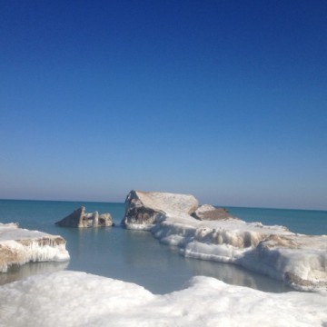 Lake Michigan, March 2015